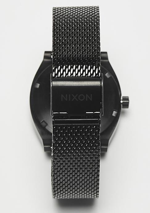 Nixon Time Teller Milanese all black