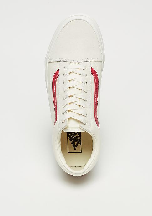 VANS UA Old Skool vintage white/rococco red