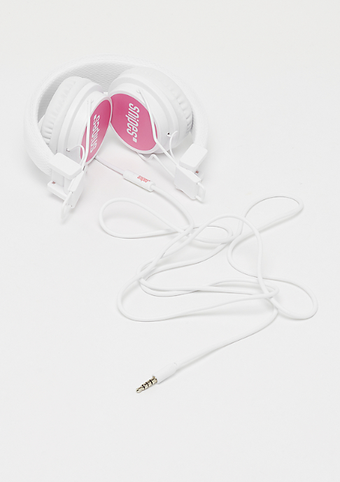 SNIPES On Ear Headphones white/pink