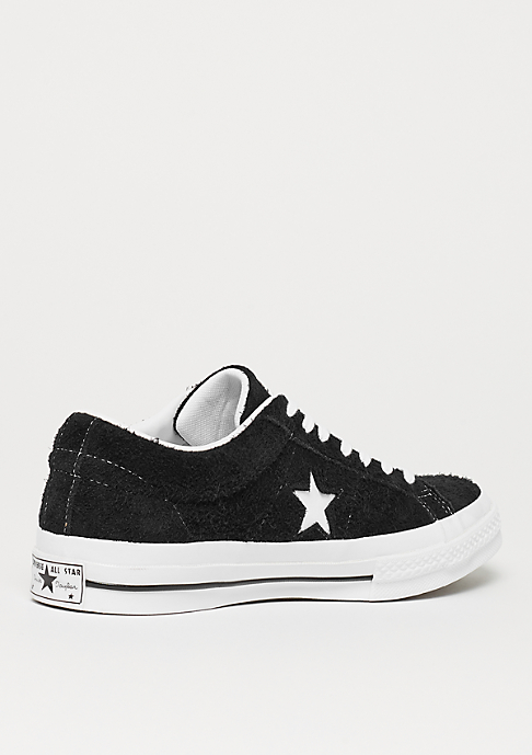 Converse One Star Ox black/white/white