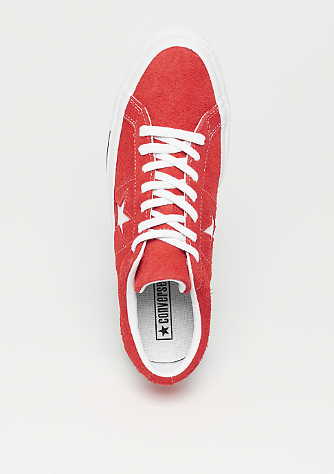 Converse One Star Ox red/white/white