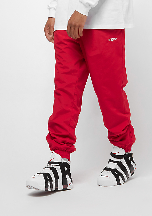 SNIPES Basic Tracksuit red