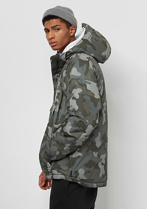 Park Authority Hooded Halfzip woodland camo