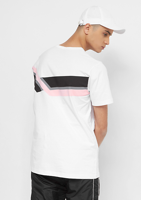 SNIPES Printed Chest Logo white/black/pink