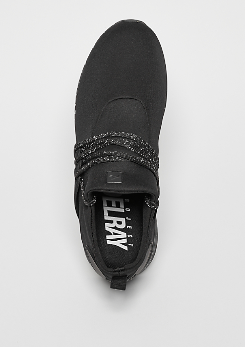 Project Delray Schuh Wavey black/white