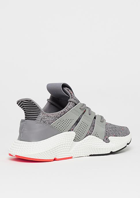 adidas Prophere grey three/ftwr white/solar red