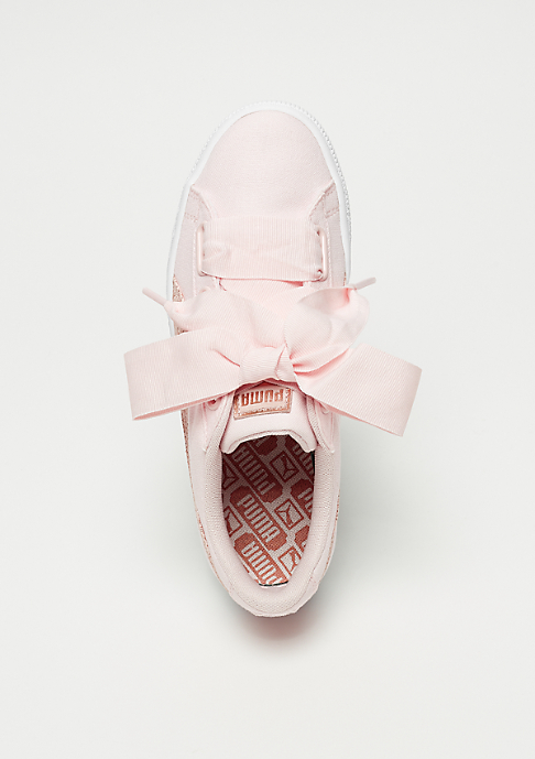 Puma Basket Heart Canvas pearl-puma white-rose gold