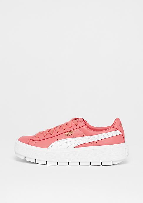 Puma Basket Platform Trace shell pink-puma white