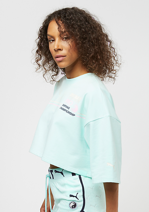 Puma Fenty By Rihanna Cropped Crew Neck bay