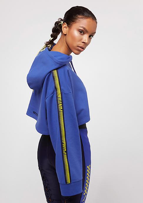 Puma Fenty By Rihanna Hooded Cropped Dazzling Blue