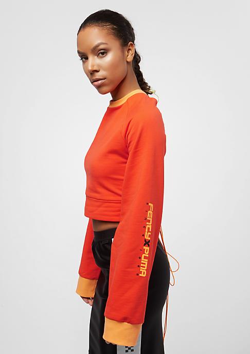 Puma Fenty By Rihanna Laced cherry tomato
