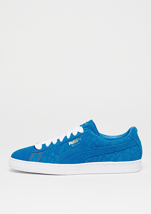 Puma Suede Classic PARIS electric blue lemonade/electric blue lem