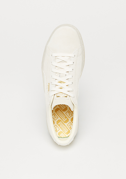 Puma Suede Classic Satin whisper white-metallic gold