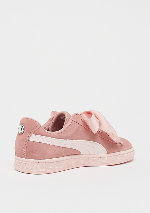 Puma Suede Heart Jewel peach beige-pearl