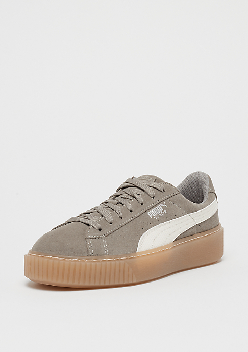 Puma Suede Platform SNK rock ridge-whisper white