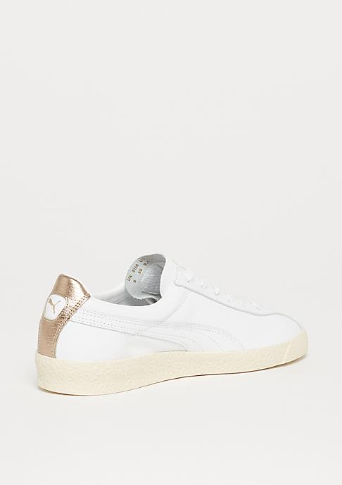 Puma Te-Ku Leather puma white-marshmallow-puma team gold