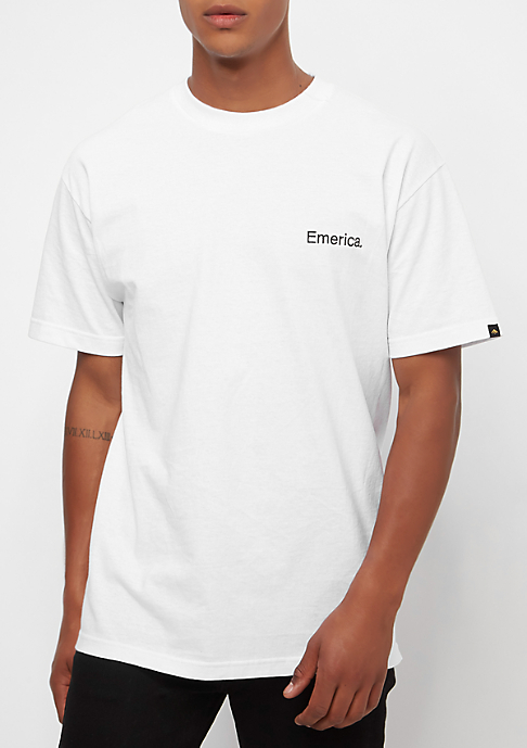 Emerica Pure Embroidery white