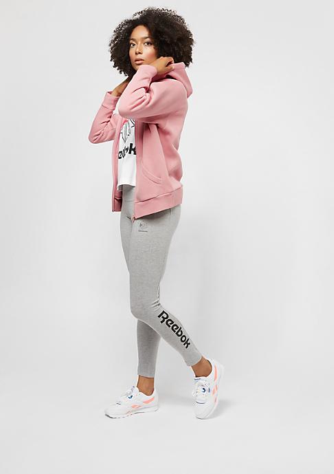 Reebok F Fleece FZ Hoody chalk pink/chalk pink