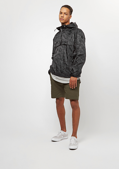 Reell Hooded black camo