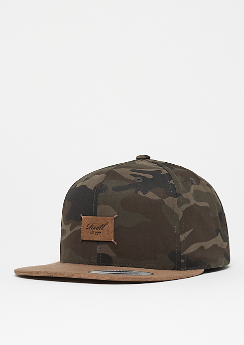 Reell Suede Cap camouflage