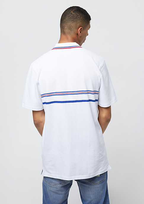eS x Grizzly Court Classic Polo Shirt white