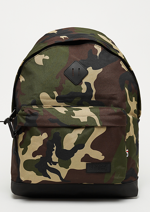 SNIPES Backpack camo