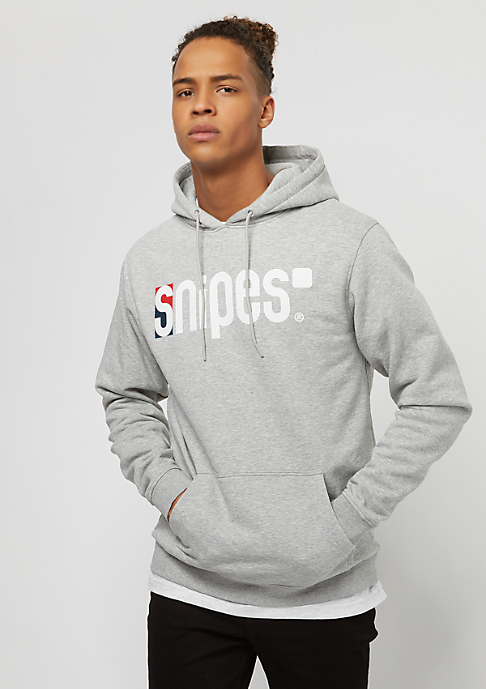 SNIPES Basic Logo CLRD heather grey/white