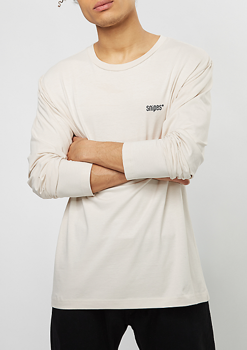 SNIPES Longsleeve Basic moonbeam