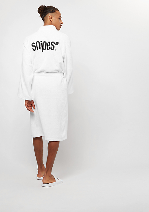 SNIPES Bathrobe white