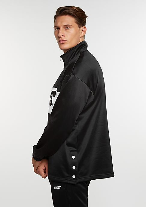 SNIPES Sweatshirt Block Troyer black/white/black
