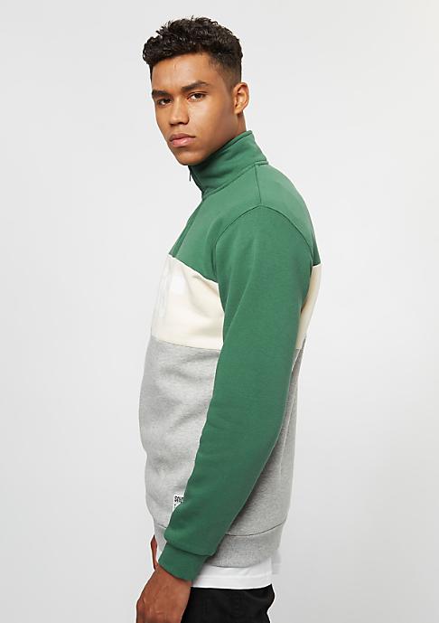 SNIPES Block Troyer evergreen/moonbeam/grey