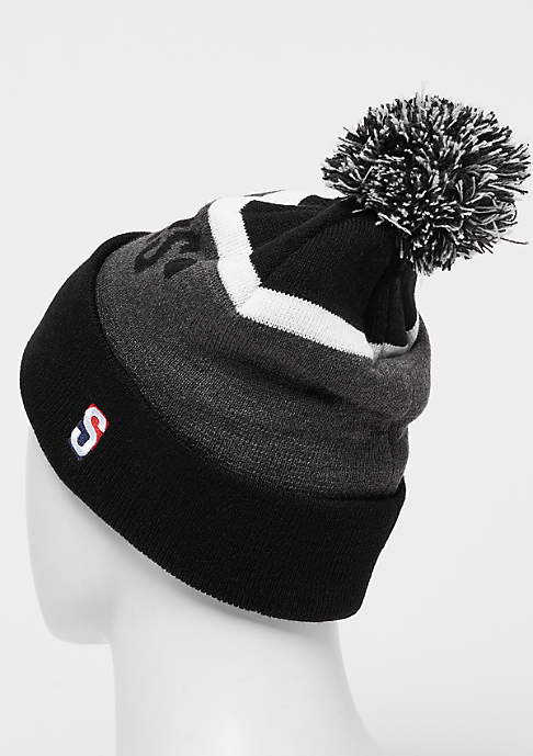SNIPES Bobble Beanie black/grey