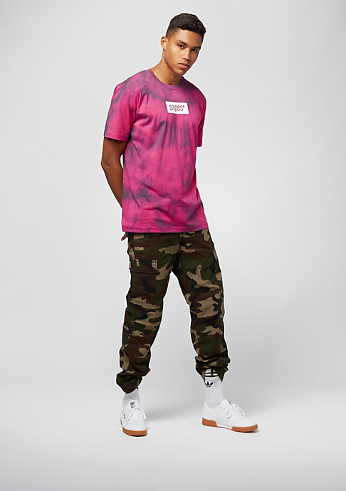 SNIPES Box Logo Batik pink/black