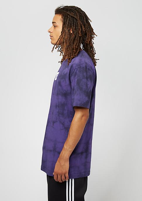 SNIPES Box Logo Batik purple/black