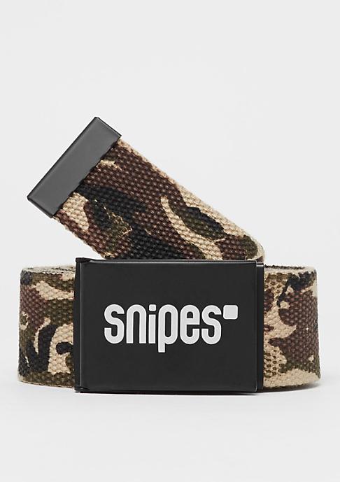 SNIPES Buckle Belt camouflage