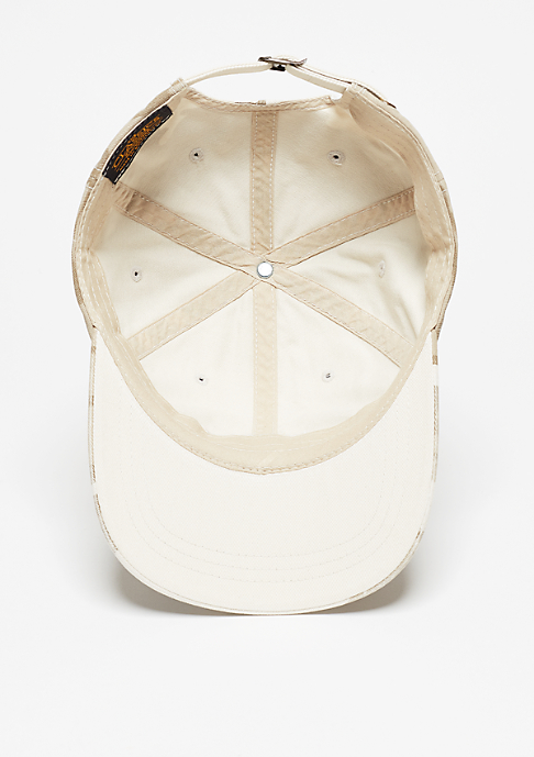 SNIPES Baseball-Cap Camo beige/brown/grey