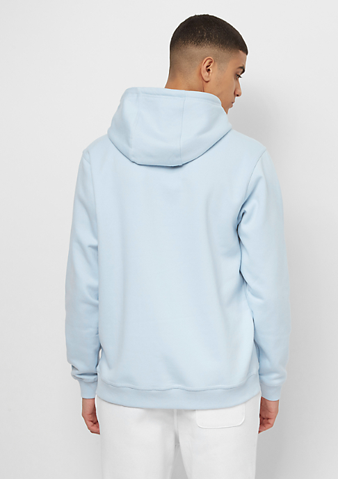 SNIPES Hooded-Sweatshirt Chest Logo omphalodes/white embroidery