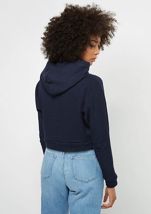 SNIPES Hooded-Sweatshirt Cropped blue