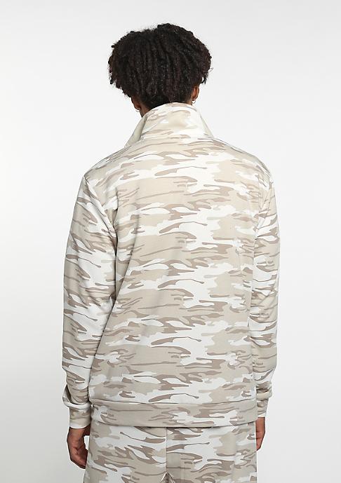 SNIPES Trainingsjacke D. Camo beige/lt. brown/grey