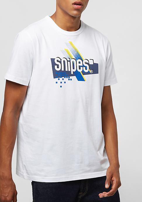 SNIPES Graphic Basic Logowhite/blue/yellow