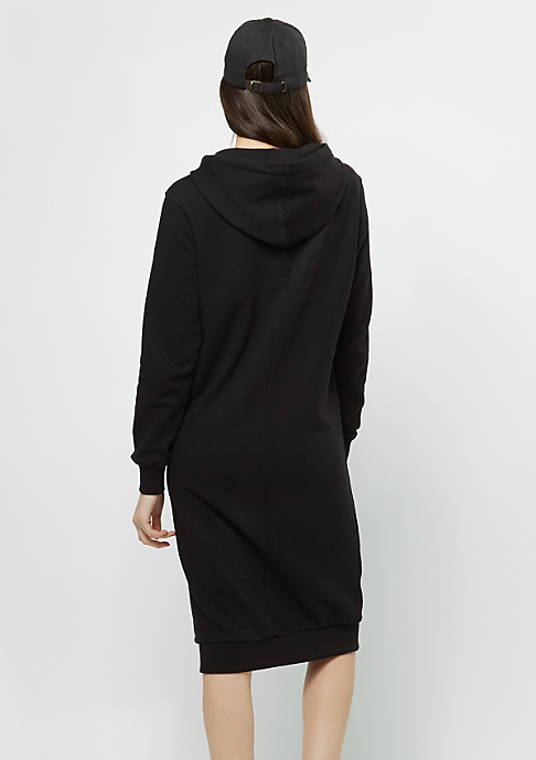 SNIPES Kleid Maxi Hoody black