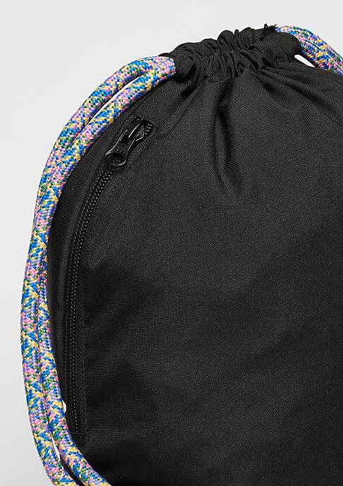 SNIPES Turnbeutel Rainbow Logo black/multicolor