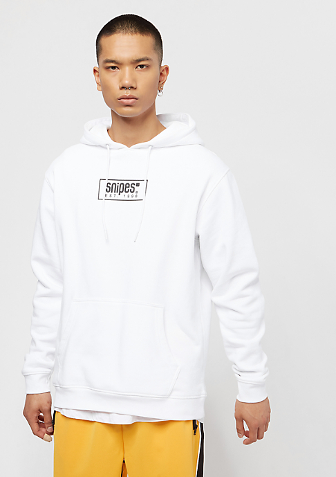 SNIPES Small Box Logo NGTV white/black