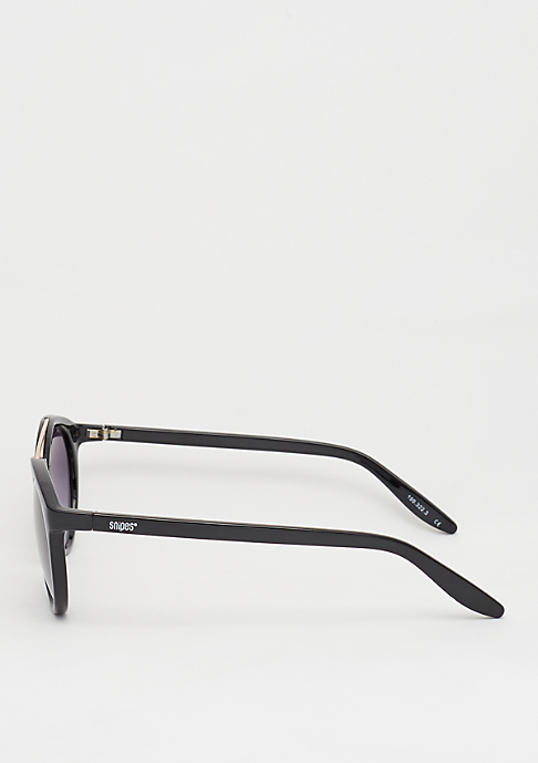 SNIPES Sonnenbrille 199.322.3 shiny black/gold/gradient smoke