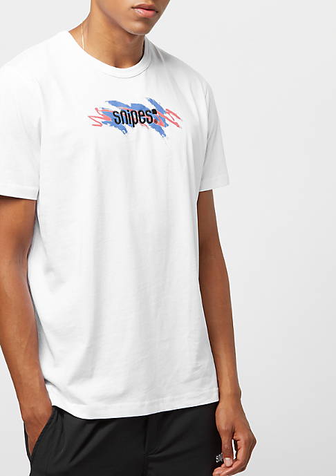 SNIPES Scribble Logo Deep Sea coral/french blue/black
