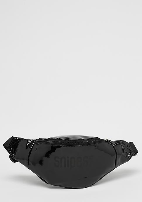 SNIPES Shiny Blackout Hip Bag black