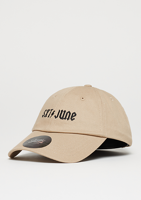 Sixth June Curved Cap sand
