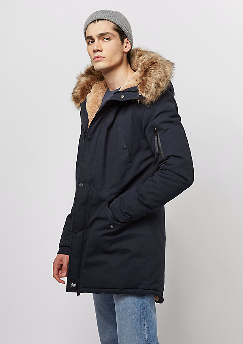 Sixth June Fur Parka navy/blue