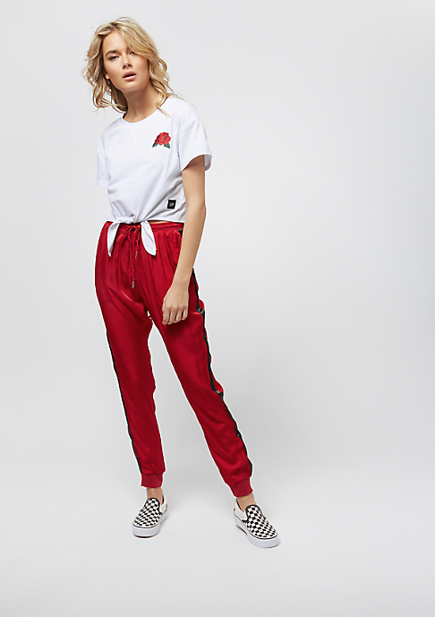 Sixth June Tee With Front Knot And Roses white