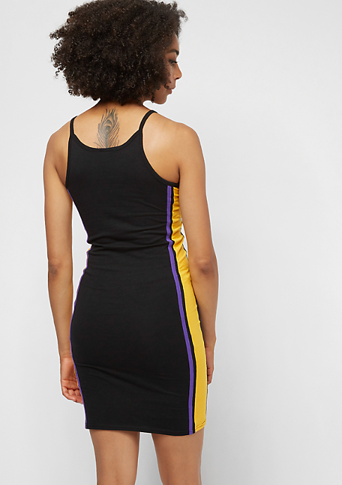 SNIPES Small Basic Logo Dress black/purple/yellow